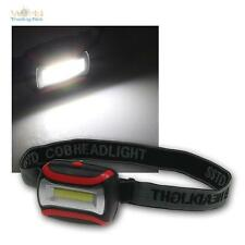 LED Kopflampe, HeadLight COB, 320 Lumen, 2 stufig dimmbar, Stirnlampe, Helmlampe