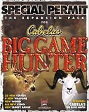 Special Permit: The Expansion Pack for Cabela's Big Game Hunter (PC, 1998)