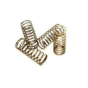 4 x Compression Springs Size 3mm Diameter 10mm Length long W/D 0.3 Pressure S/S