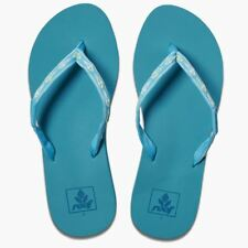Reef Womens Sandals ~ Ginger tropical aqua