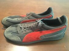 Puma Retro-Look Running Shoes Gray/Red Mens Size 11