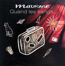 Maurane ‎CD Single Quand Les Sangs... - Promo - France (VG+/VG+)