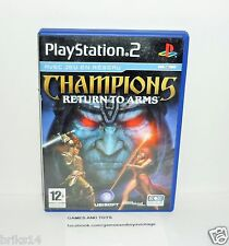 JEU PS2 COMPLET CHAMPIONS RETURN TO ARMS REF 16