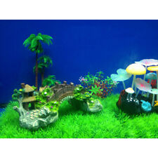 Bridge Aquarium Fish Tank Decoration Ornament Landscape Bridge  B1Z