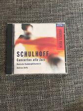 Andreas Delfs - Schulhoff (Concertos alla Jazz, 1995)