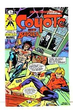 Coyote #14 Meets the Badger Steve Englehart Marvel Epic Comics F/F+