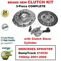 FOR MERCEDES SPRINTER DumpTruck 616CDi 156bhp 2001-2006 NEW CLUTCH KIT with CSC