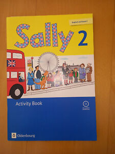 Sally 2 Activity Book, neu und unbenutzt, mit CD, Englisch lernen