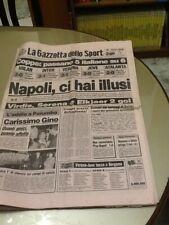 La Gazzetta dello Sport / 1 ott 1987 / Coppe Europee