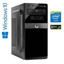 Gaming PC Intel Core i7-8700, GTX 1060 6GB 16 GB DDR4 RAM, 240 GB SSD + 1 TB HDD