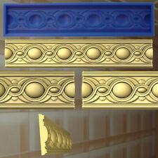 Stucco profili GOMMA negativo forma stampo gesso in rilievo Decorazione Soffitto 338