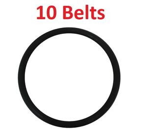 10 Round Belts RD for Eureka & Sanitaire Upright Vacuum