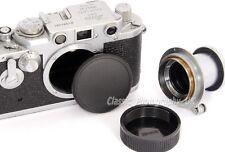 Leica L39 Body Cap for Leica IIIg Leica 3c + Lens Cap for SUMMILUX 1.4/50 Elmar