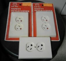 3 Baby Safety Electrical Outlet Covers Small Child Proof Outlet Protector