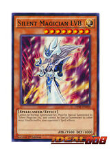 YUGIOH x 3 Silent Magician LV8 - DPRP-EN020 - Common - 1st Edition Near Mint