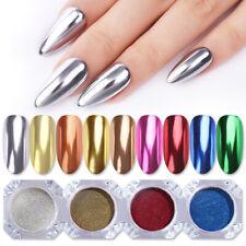 Nail Mirror Powder Dust Glitter Decors Nail Art Chrome Pigment DIY Decoration