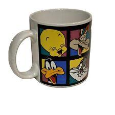 Vintage 1993 Warner Bros. Looney Toons Animation Characters Coffee Cup Mug
