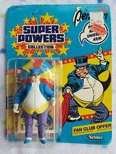 The Penguin MOC KennerSuper Powers 1984 DC 12 Back Comic & Fan Club Offer