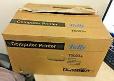 TALLY T5023+ MATRIX PRINTER - NEW OPEN BOX - ONLY PRINTED 3 SHEETS
