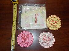 1964 SCHENLEY COASTER PARTY STIRS NAPKINS ADVERTISEMENT LOT STICKS