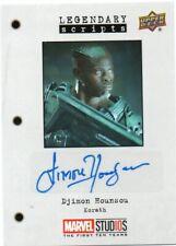 2018 Marvel Studios First Ten Years Autograph Djimon Hounsou as Korath Ls-Dh