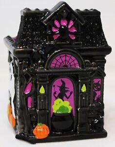 Bath & Body Works Halloween Soap Holder Sleeve Black Pumpkin FLAWED CHIPPED New