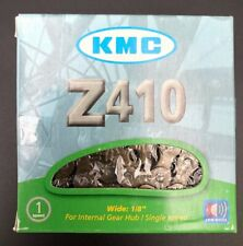"KMC Z410 Chain: 1/8"" 112 Links Brown Single Speed New"