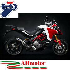 Scarico Termignoni Ducati Multistrada 1260 2018 Terminale Titanio Moto Omologato