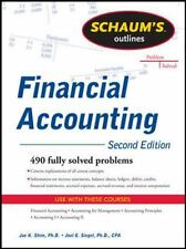 Financial Accounting by Joel G. Siegel and Jae Shim (2011, Paperback)