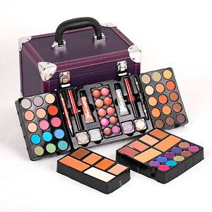 PURPLE Mixed Beauty Makeup Set Kit Eyeshadow Blushers Palette Professional