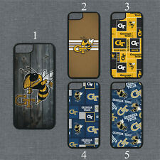 Georgia Tech Yellow Jackets Phone Case For iPhone 11 Pro X Max 8+ 7 6 Plus Cover
