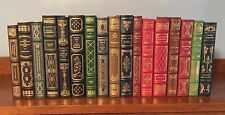 FRANKLIN LIBRARY 17 MINT VOLUME LOT ~ HEMINGWAY TWAIN CARROLL MELVILLE POE