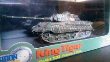 Dragon Armor King Tiger Tank  1/72 Porsche Turret  Item 60042