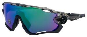 Oakley Jawbreaker Sunglasses OO9290-4631 Grey Ink   Prizm Road Jade Lens