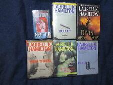 Laurell K Hamilton Lot of 6 Books Anita Blake/Meredith Gentry Strange Candy P32