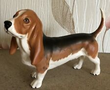 BESWICK DOG BASSETT HOUND FOCHNO TRINKET LARGE MODEL No 2045A MATT PERFECT