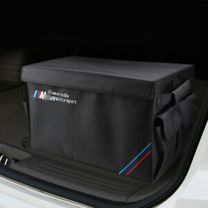 Large Trunk Storage Organizer Folding Box for BMW M Sport Accessories X3 E92 F30