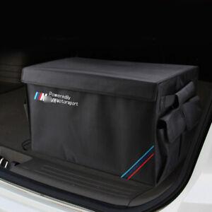 Large Trunk Storage Organizer Folding Box for BMW M Sport Accessories X3 E92 F30