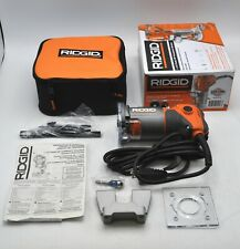 Ridgid Tools 1-1/2 Peak HP Compact Fixed-Base Router 5.5 Amp Corded R24012 New