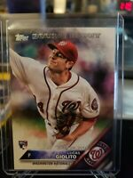 LUCAS GIOLITO 2016 TOPPS UPDATE ROOKIE CARD #US213 MINT! NATIONALS
