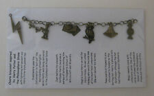 1 Antique bronze charm bracelet inspired by Harry Potter Philosophers Stone Set1