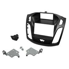 For Ford Focus 2015-2017 Scosche Double DIN Black Stereo Dash Kit w Pocket