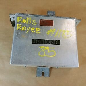 Rolls Royce 1981-91 Original Engine Computer Module ECU Bosch 0280800017 OEM