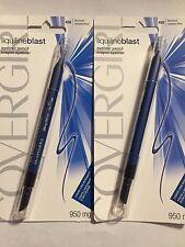 Covergirl Liquiline Blast Eyeliner Pencil, 450 Blue Boom, Lot of 2!