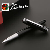 Picasso 916 Malage Fountain Pen Classic Elegant Pen Extra Fine Nib 0.38mm Black