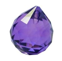 40mm Violet Purple Chandelier Crystals Ball Prism Suncatcher
