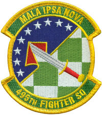 USAF 495th FIGHTER SQUADRON - PATCH