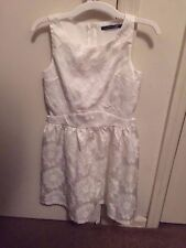 Penelope Tree by Miss Behave Large White Girls Dress
