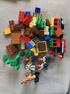Lego Duplo Lot Disney Toy Story Figures Bullseye Woody Buzz Lightyear 2 Jessie's