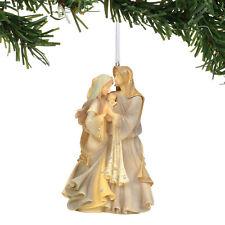 Enesco Foundations Holy Family Mary Joseph Jesus Christmas Ornament $50=FreeShip